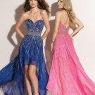 Sweetheart Strapless Neckline Column 2312 sexy prom dresses