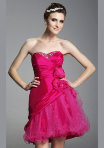 A-line Sweetheart Short/ Mini Short Prom Dresses