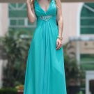 Party Dresses For Girls V-Neck Elegant High Waist Bridesmaid Dresses