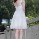 White sexy evening dresses Short Party Dresses mini dresses