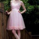 Pink Short Party Dresses sexy evening dresses mini dresses