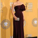 Gorgeous Column Strapless Floor-Length Celebrity Dresses