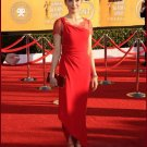 Asymmetry Short Sleeves Celebrity Dresses