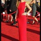 Red sexy halter Celebrity Dresses
