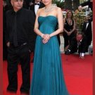 Elegant A-Line Column/Sheath Sweep  Celebrity Dresses