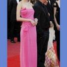 Sleeveless Floor-length Celebrity Dresses