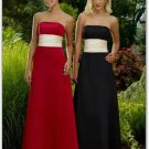 Bridesmaid Dresses With Sashes