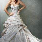 Gorgeous Ball-Gown Sweetheart Chapel Train Taffeta Bridal Dresses