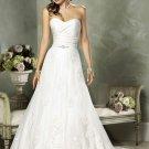 A-Line Sweetheart Chapel Bridal Dresses