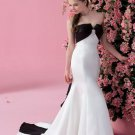 Style Black And White Cheap colored wedding dresses