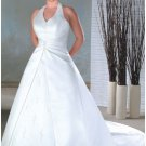 Summer splendid simple plus size wedding dresses