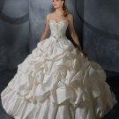 Sweetheart Neckline Pick up Ball Gown princess princess wedding dresses