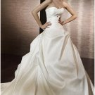 Ball-Gown Sweetheart Chapel Train princess wedding dresses