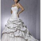 Splendid simple beach strapless wedding dresses 2012