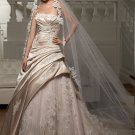 Cheap hot sell casual strapless wedding dresses 2012