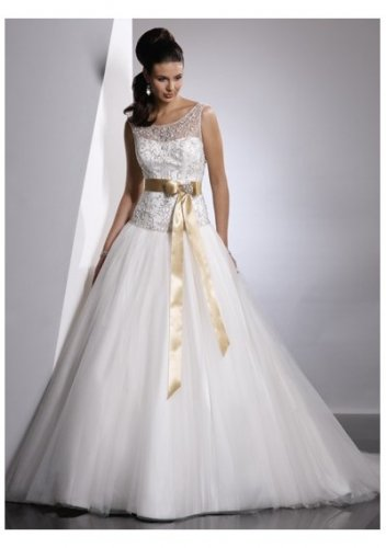 Formal custom made sumptuous strapless wedding dresses