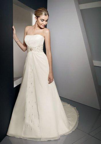 Summer sumptuous pretty strapless wedding dresses