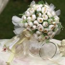 Little Rose holding flowers