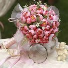 Large multi-color rose bud