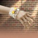 Lace pearl Butterfly knot bracelet