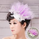 The first flowers of the bride fashion light purple