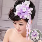 The bride fashion flower head