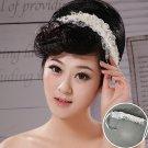 Bride Hair White Band
