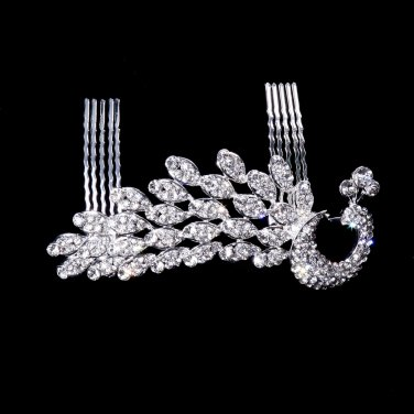 Married wealthy bride silver jewelry