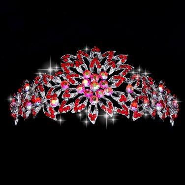Beautiful Red Diamond wedding tiaras