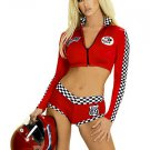 Racer Girl Outfit Sexy Sport Costume