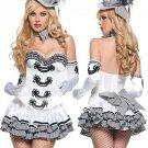 Sweetheart Neckline Womens Fantasy Costume