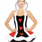 Sexy Queen of Hearts Fairytale  Costume