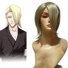 Bleach Kira Izuru 30cm Cosplay Wig