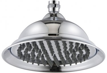 free shipping 8 inch solid brass shower head