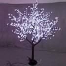 Rainfall  480pcs LED Bulbs Christmas Light Cherry Blossom Tree  1.5m/5ft Height party holiday deco