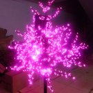 LED Cherry Blossom Tree Light Outdoor Home Decor Pink Color waterproof Hoiday christmas decor