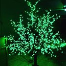 1,024 LEDs 6ft Cherry Blossom Tree Light Garden Holiday Christmas Decoration Outdoor Green