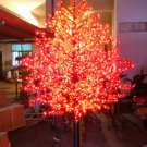 Red 5ft/1.5m LED Maple Tree Outdoor Christmas Light Wedding Holiday Home Christmas party Decor