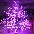 1,024 LEDs 6ft Cherry Blossom Tree Light Garden Holiday Christmas Decoration Outdoor purple
