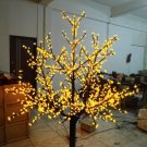 1,024 LEDs 6ft Cherry Blossom Tree Light Garden Holiday Christmas Decoration Outdoor yellow