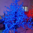 Blue 5ft/1.5m LED Maple Tree Outdoor Christmas Light Wedding Holiday Home Decor