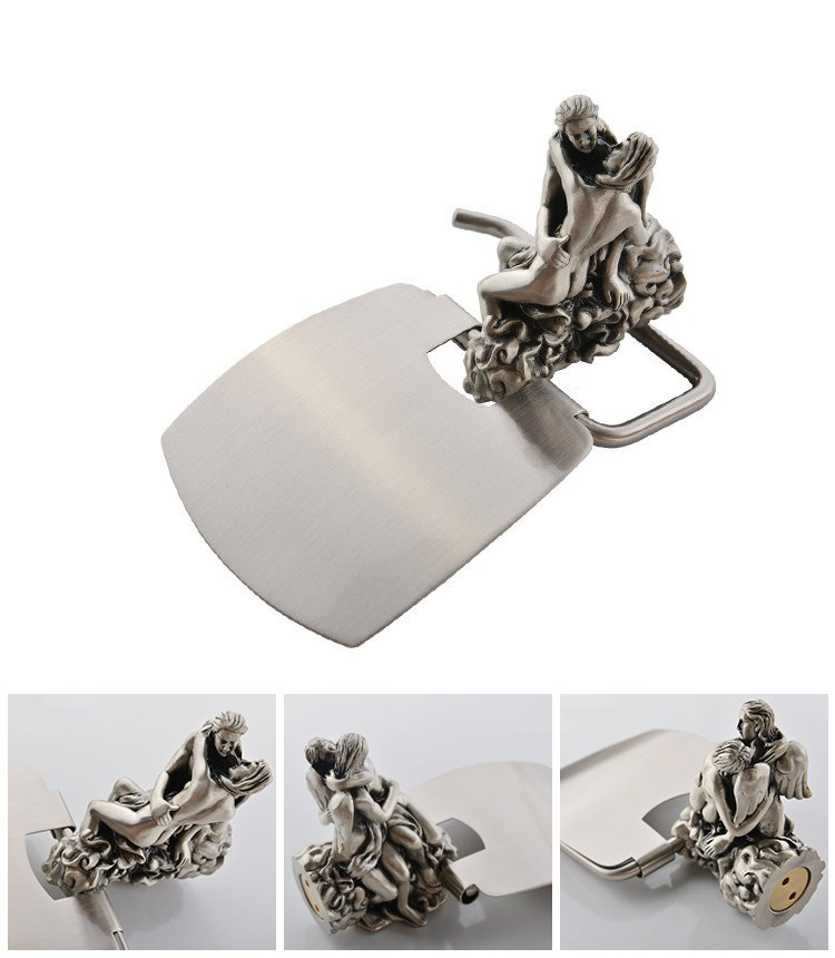 Individuality Creative Romantic Bathroom Toilet Paper Holder with cover