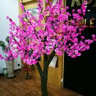 2.3m /7.6ft Red /Pink LED Cherry Blossom Tree light Wedding Garden patio Holiday Christmas  Light