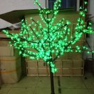 5ft LED Cherry Blossom Tree Outdoor Wedding Garden Holiday birthday Light Decor 480 LEDs GREEN