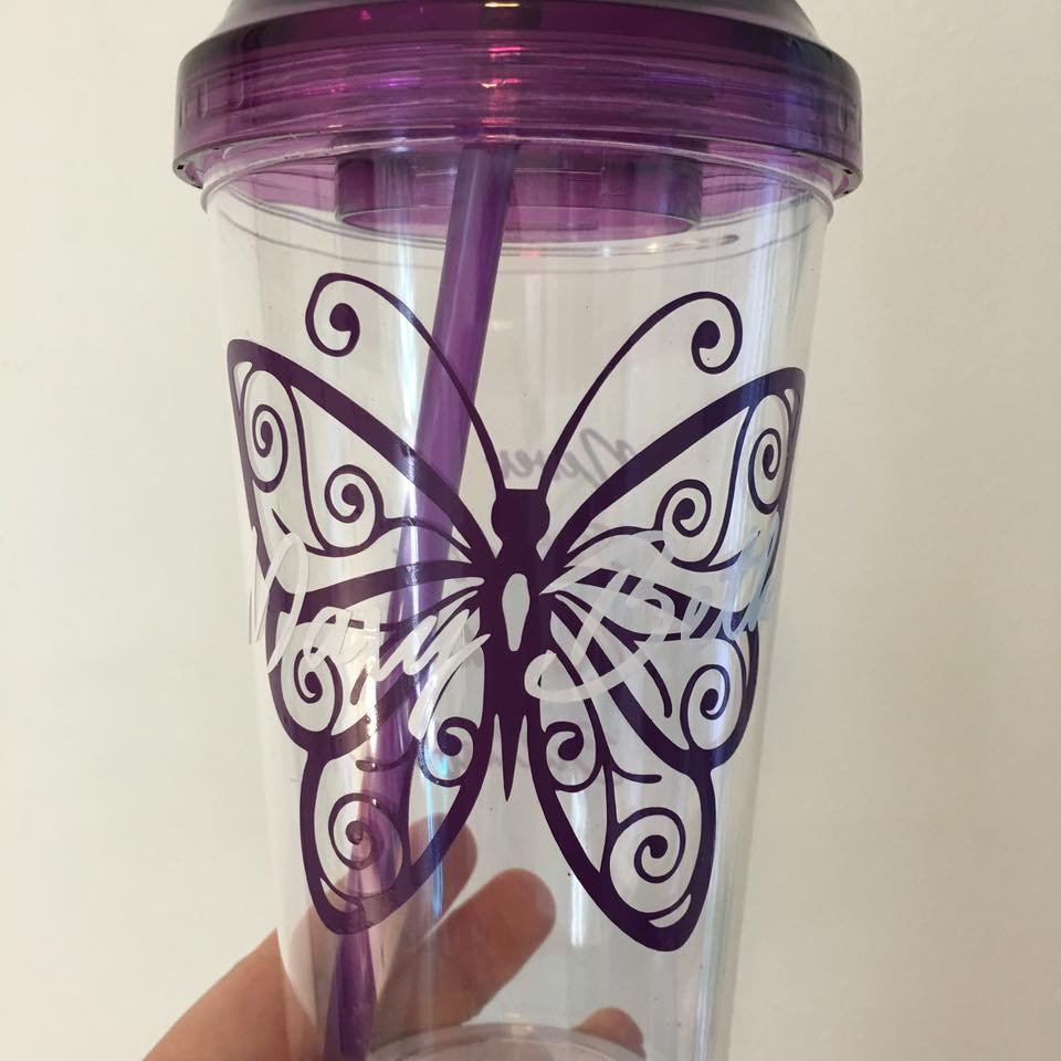 Handmade Personalized Tumbler- You pick the design, and we can do it!