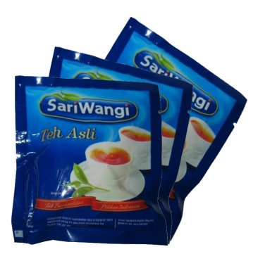 Sariwangi Teh celup Asli 10 gram Teh hitam Black tea bags 5-ct @ 2 gr (package of 3)