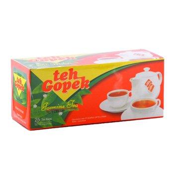 Gopek Teh Celup melati 50 gram jasmine tea bags  25-ct @ 2 gr