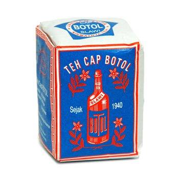 Cap Botol loose tea Blue-pack 40 gram - teh bubuk cap botol bungkus biru