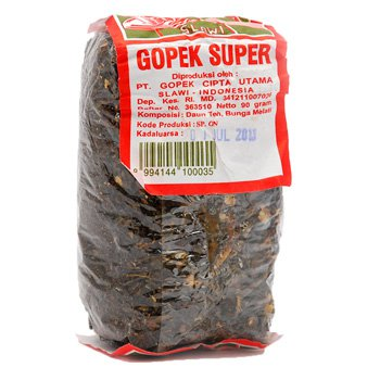 Gopek Teh Super Kaca 90 gram - Loose tea plastic bag