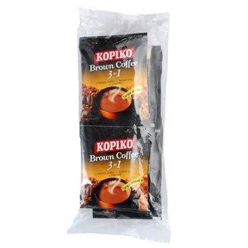 Kopiko Brown Coffee 3in1 instant coffee 250 gram econimic pack  10-ct @ 25 gr